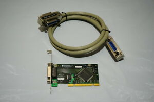 National Instruments Ni 188513e 01 Pci gpib Interface Card With 4ft Gpib Cable