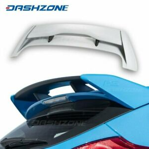 Abs Type Rs Rear Roof Trunk Spoiler Wing Fit 2012 2018 Ford Focus Mk3 Hatchback