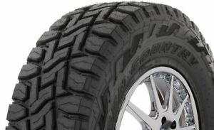 4 New 33x12 50r18lt Toyo Open Country Rt 118q 10e Bw Tires