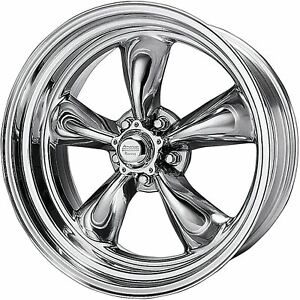 1 New 17x7 0 American Racing Torq Thrust Ii Polished 5x114 3 Wheel Rim