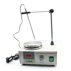 Magnetic Stirrer W Hotplate Digital Mixer Heating Plate Control 110v Low Noise