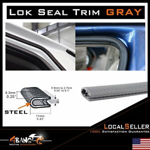 36ft Weather Stripping Car Door Protector Guard Seal Edge Trim Lok Auto Parts