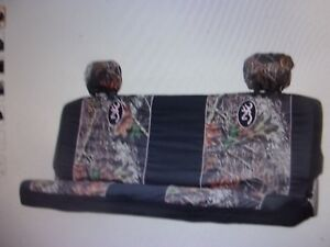 New Truck Browning Mid Size Bench Seat Cover Mossy Oak Break Up Camo 3 Piece