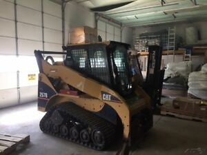 2006 Caterpillar 257b Tracked Skid Steer Loader W Cab Coming Soon