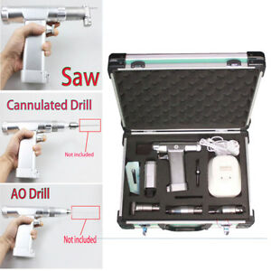 110v Medical Electric Orthopedic Hollow Bone Drill Surgical Bone