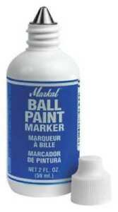 12 Pack Ball Paint Marker Blue Markal 84625