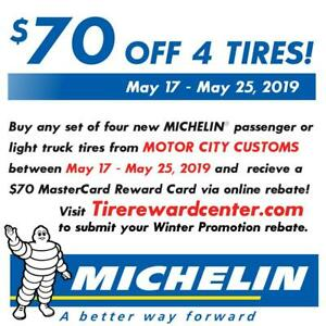 Michelin Latitude Tour Hp Tire 235 55r17 99h 01985 Qty 1