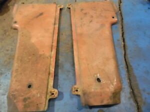 Farmall 300 Gas Farm Tractor Grill Side Panels