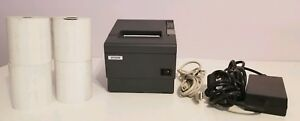 Epson Tm t88iv Pos Usb Thermal Receipt Printer M129h W ps180 Power Usb