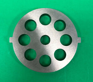 12 X 1 2 Holes Meat Grinder Disc Plate With 2 Tabs For Stx Turboforce 3000