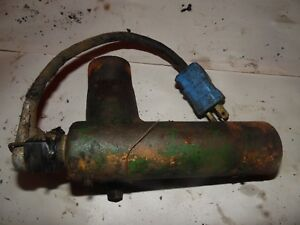 Oliver 1800 a Farm Tractor Lower Water Neck Block Heater