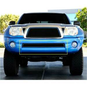 T rex Black Upper Class Series Bumper Grille For Toyota Tacoma 2005 2011