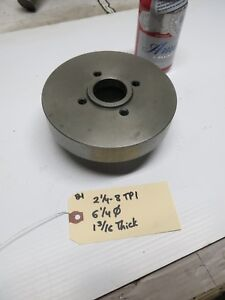Lathe Chuck Backplate For South Bend 2 1 4 8tpi Spindle