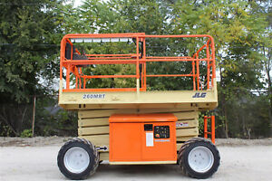2005 Jlg 260mrt All Terrain Scissor Lift Diesel Rough Terrian 4wd Lift Jlg Lift