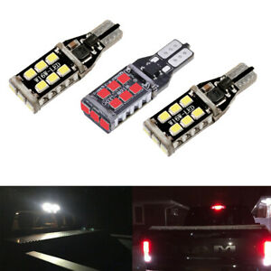 2 White 1 Red 912 Led Cargo 3rd Brake Light Bulbs For 2000 2020 Toyota Tundra