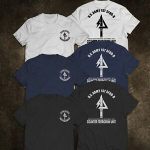 NEW US NAVY SEAL US ARMY SPECIAL FORCES CONTER TERRORISM UNIT T Shirt $21.99