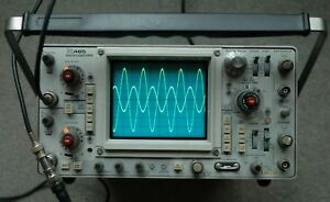 Tektronix 465 100mhz Oscilloscope Calibrated Sn B307186 With 2 Probes