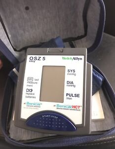 Welch Allyn Osz 5 Easy Blood Pressure Monitor With Cuff Manual
