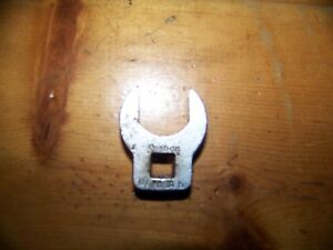 Snap On Crowfoot Wrench 3 8 Drive 13 16 Open End Usa
