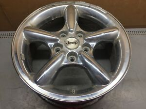 Jeep Grand Cherokee 17 Wheel 2002 2003 2004 Chrome 5 Spoke Oem Factory 2883