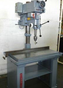 20 Swg 1 5hp Spdl Clausing 2286 Drill Press Vari speed Reverse Production Tb