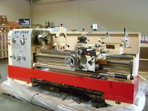 New Gmc Gt 2080 20 X 80 Heavy Duty Precision Engine Lathe W free Taper Attch