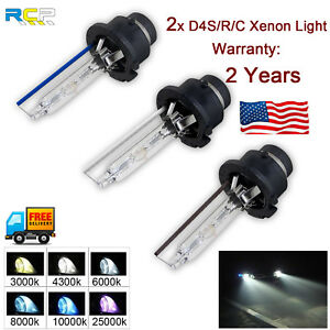 2pcs D4s D4r Hid Xenon Headlight Replacement For Philips Or Osram Oem Bulbs 35w