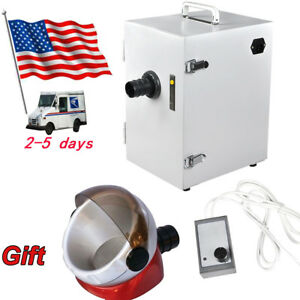Usa Dental Lab Digital Single row Dust Collector Vacuum Cleaner suction Base Ce