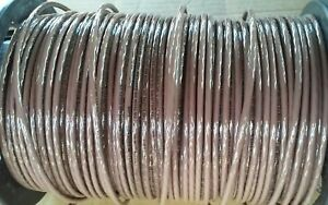 Thhn Brown Stranded Copper Wire 10 Awg 125 Ft
