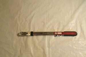 Snap On Torque Wrench Tqr250e 40 250 Ft lbs 1