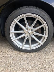 2 Pairs Of 2 New 18 Inch Tsw Bathhurst Rims And Bf Goodrich Tires 4 Available