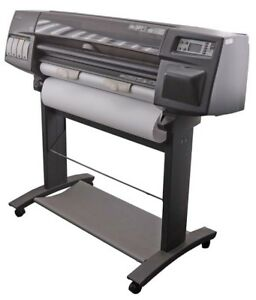 Hp Designjet 1000 1055cm C6075a 200w 36 Large Format Rolled Plotter Printer