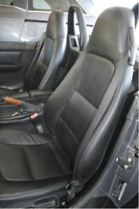 1996 2002 Bmw Z3 Replacement Leather Seat Covers Black