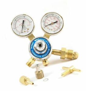 Forney 85363 Argon co2 Regulator Kit For Mig Welder 5 32 inch