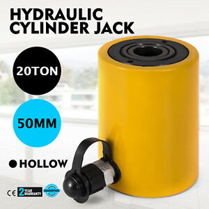 20t 2 Single Acting Hollow Cylinder Jack Hydraulic Heavy Equipment Hollow Ram