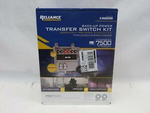 Reliance 6 circuit Transfer Switch Kit With 30 amp Inlet Box