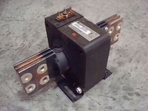 Used General Electric Jcl 0 750x028017 Current Transformer Ratio 3000 5 Amp