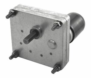 Dayton Model 52je52 Dc Gear Motor 17 Rpm 1 125 Hp 12vdc