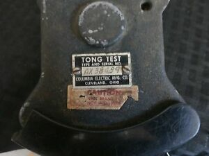 Tong Test Columbia Electric Ax38489