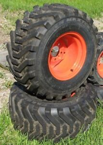 Kubota Bx25 Rear Wheel Tire Set New Tractor Take offs 34 95 26x12 00 12nhs