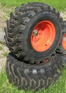 Kubota Bx25 Rear Wheel Tire Set New Tractor Take offs 399 26x12 00 12nhs