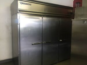 Victory 3 Door Side By Side Commercial Kitchen Refrigerator