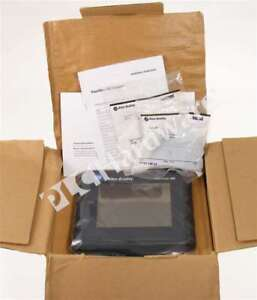 New Allen Bradley 2711 t6c8l1 b Panelview 600 Color 6 in Touch Dh rs 232