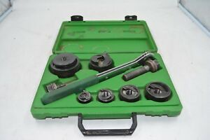 Greenlee 7238sb Slugbuster 1 2 2 Wratcheting Knockout Punch Set 5030017 1