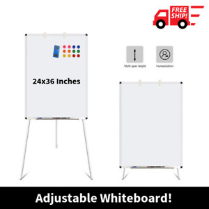 Best Large Whiteboard Big Easel With Stand Up Tripod Adjustable Portable Kit Set
