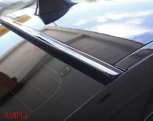 Painted For 2014 2017 Mitsubishi Lancer rear Window Roof Spoiler black