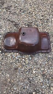 Farmall Md Oil Pan Ih M Diesel Tractor Engine Motor Rare