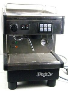 Stainless Steel Magister Es60 Espresso Maker Professional Commercial Machine