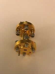 Wr 15 50 To 75 Ghz Millimeter Waveguide 1 Inch Straight Gold Plated