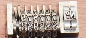 Letterpress Numbering Machine key